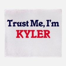 Trust Me, I'm Kyler Throw Blanket