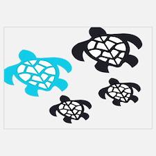 Unique Leatherback turtle Wall Art