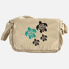 Funny Sea turtle Messenger Bag