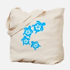 Cute Turtle flower Tote Bag