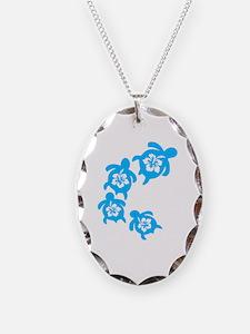Unique Hawaii turtles Necklace