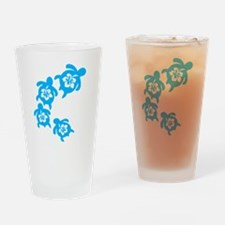 Unique Hawaiian Drinking Glass