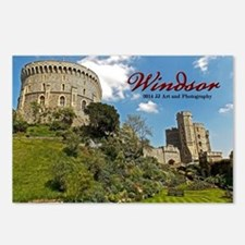 Windsor Castle & Gardens Postcards (package Of