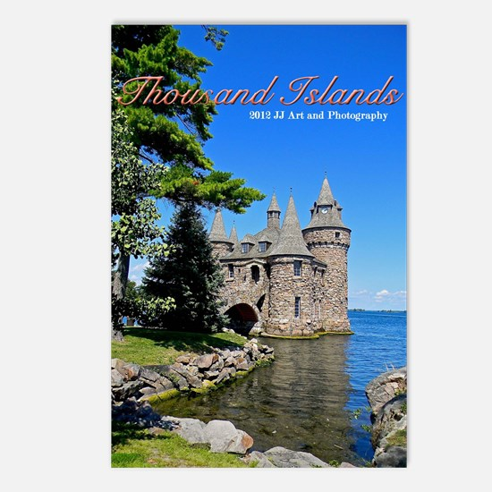 Thousand Islands Castle Postcards (package Of 8)