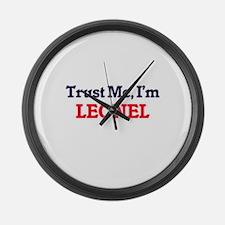 Trust Me, I'm Leonel Large Wall Clock