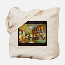 Moon Over New Orleans Tote Bag