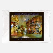 Moon Over New Orleans Pillow Case