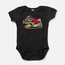 Cute Ram truck Baby Bodysuit