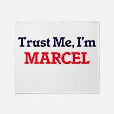 Trust Me, I'm Marcel Throw Blanket