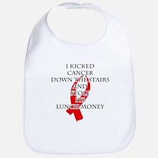 Cancer Bully (Red Ribbon) Bib