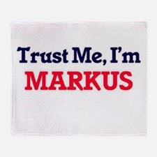 Trust Me, I'm Markus Throw Blanket