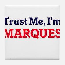 Trust Me, I'm Marques Tile Coaster