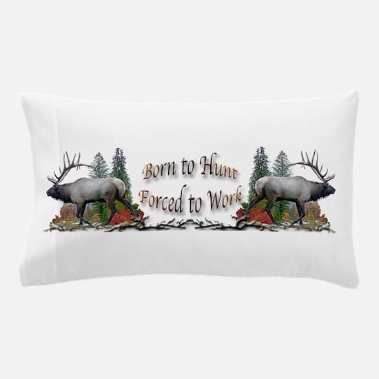 Bull elk and work Pillow Case