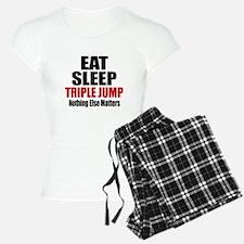 Eat Sleep Triple jump Pajamas