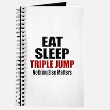 Eat Sleep Triple jump Journal
