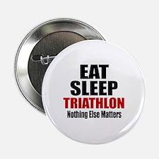 "Eat Sleep Triathlon 2.25"" Button (100 pack)"