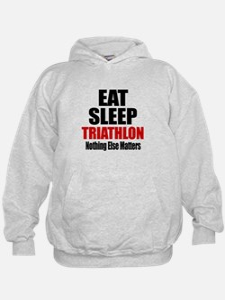 Eat Sleep Triathlon Hoodie