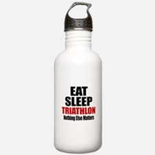 Eat Sleep Triathlon Water Bottle