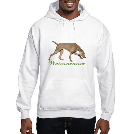 Weimaraner Hooded Sweatshirt