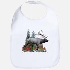 Bull elk r Bib