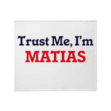 Trust Me, I'm Matias Throw Blanket