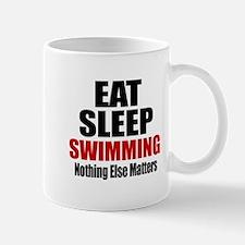 Eat Sleep Swimming Mug