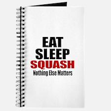 Eat Sleep Squash Journal
