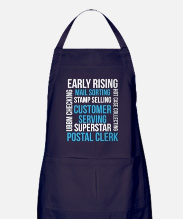 Cute Mail Apron (dark)