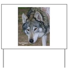 Wolf Rescue Yard Sign
