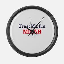Trust Me, I'm Micah Large Wall Clock