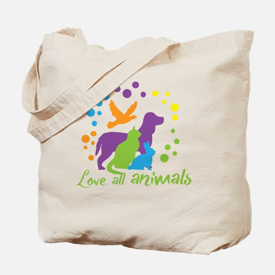 Cute Animal all animals Tote Bag