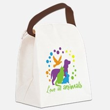 Cool Shelter Canvas Lunch Bag