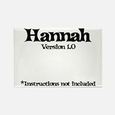 Hannah Version 1.0 Rectangle Magnet