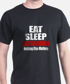 Eat Sleep Skateboarding T-Shirt