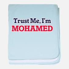 Trust Me, I'm Mohamed baby blanket