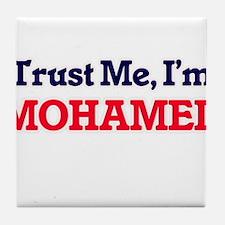 Trust Me, I'm Mohamed Tile Coaster