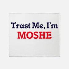 Trust Me, I'm Moshe Throw Blanket