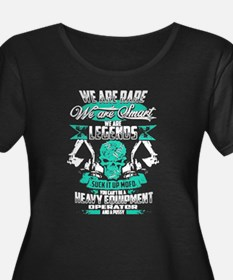 Heavy Equipment Operator We Are Plus Size T-Shirt