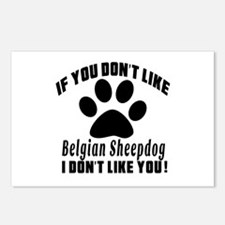 If You Don't Like Belgian Postcards (Package of 8)