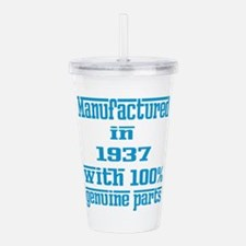 Manufactured in 1937 w Acrylic Double-wall Tumbler