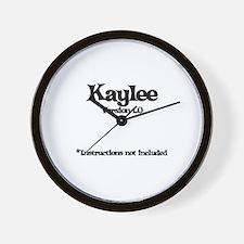 Kaylee Version 1.0 Wall Clock