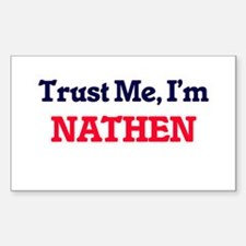 Trust Me, I'm Nathen Decal