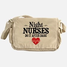 Night Nurse Messenger Bag