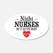 Night Nurse Wall Decal