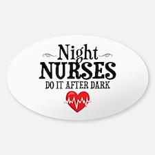 Night Nurse Decal