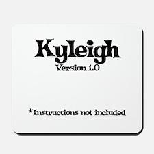 Kyleigh Version 1.0 Mousepad