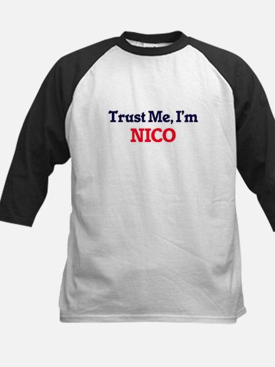 Trust Me, I'm Nico Baseball Jersey