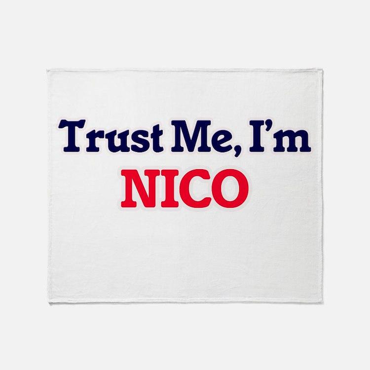 Trust Me, I'm Nico Throw Blanket
