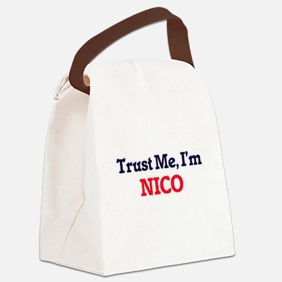 Trust Me, I'm Nico Canvas Lunch Bag