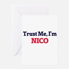 Trust Me, I'm Nico Greeting Cards